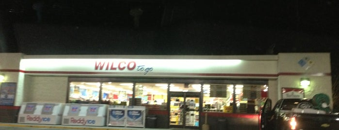 Wilco Hess is one of stores.