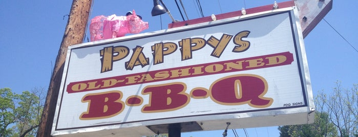 Pappy's Old Fashioned BBQ is one of South Carolina Barbecue Trail - Part 1.