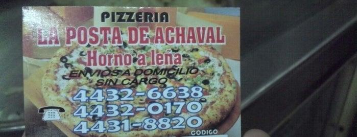 La Posta de Achaval is one of Pizzerías de Buenos Aires.
