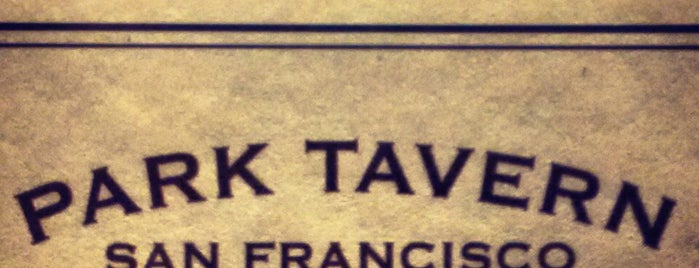 Park Tavern is one of californouze.