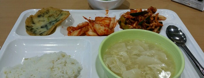 Ewha Womans University Hanwoori Residence Hall Restaurant is one of 이화여자대학교 Ewha Womans University.
