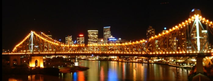 Story Bridge is one of Ben's Top 10 favourites places in Brisbane.