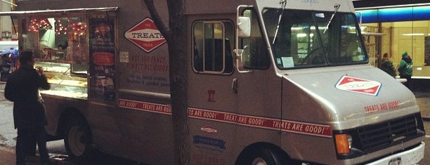 The Treats Truck is one of Food trucks.