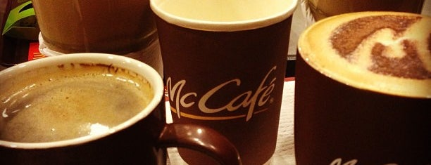McDonald's & McCafé is one of Favorite Food.