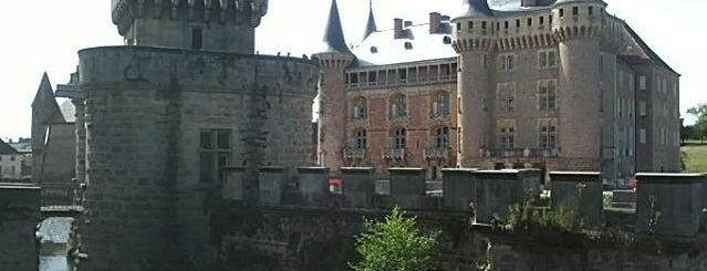 Château La Clayette is one of Criterium du Dauphiné 2012.