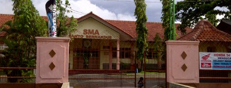 SMA St. Bernardus is one of Pekalongan World of Batik.