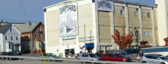 The Shipyard Brewing Company is one of Awesome Stops in Portland, Maine #VisitUS.