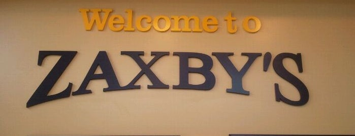 Zaxby's is one of My Favorite Places To Eat.
