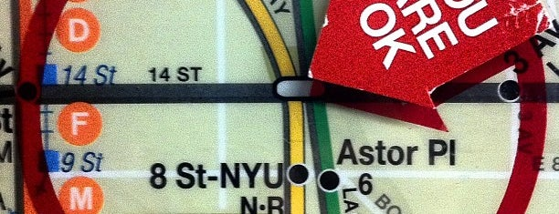 "MTA Subway - 14th St (1/2/3) is one of ""Be Robin Hood #121212 Concert"" @ New York!."