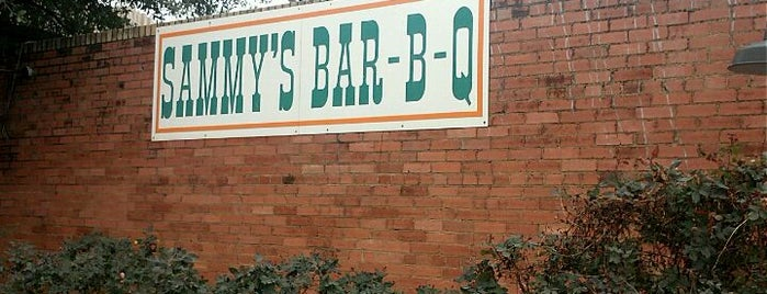 Sammy's Bar B Que is one of The BEST of Texas BBQ!.