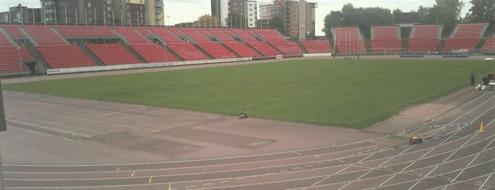 Tampereen stadion is one of Top Picks for Sports Stadiums/Fields/Arenas.