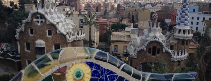 Park Güell is one of Holger's favorite spots in Barcelona.