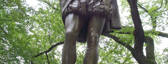 William Shakespeare Statue is one of Central Park Monuments & Memorials Tour.