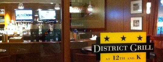 District Grill is one of places to dine.