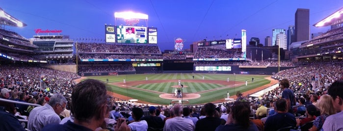 Target Field is one of MLB Baseball Stadiums.