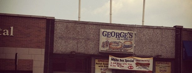 George's Restaurant is one of Emily's Chicago.