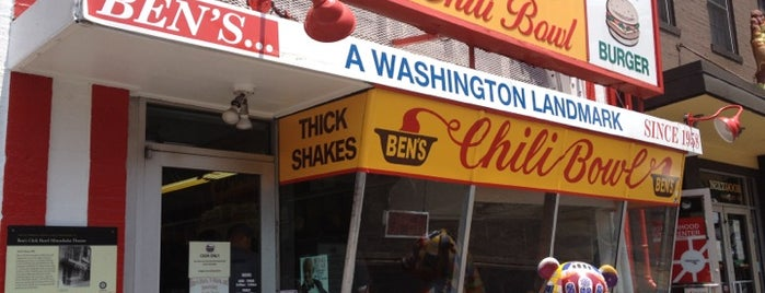 Ben's Chili Bowl is one of 2 do list # 2.