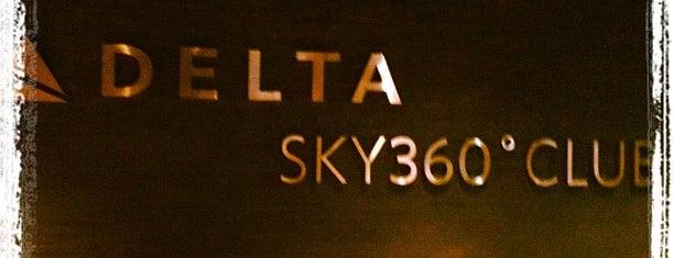 Delta Sky360 Club is one of Baseball Venue.