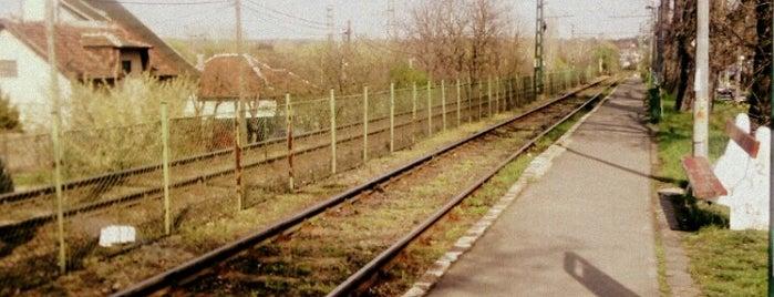 Mátyásföld alsó (H8, H9) is one of Hév megállók.