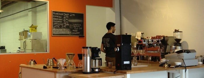 Rocanini Coffee Roasters is one of Independent Coffee in Vancouver.