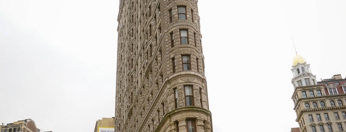 Flatiron Building is one of NYC.