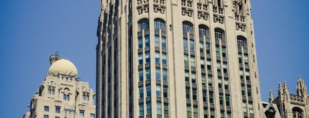 Tribune Tower is one of Chicago.