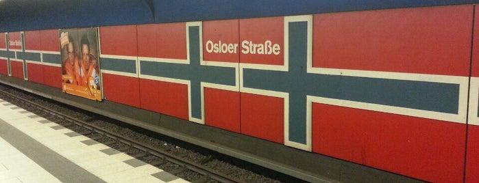 U Osloer Straße is one of Besuchte Berliner Bahnhöfe.