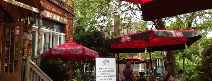 Victory Cafe is one of Toronto's Best Patios.