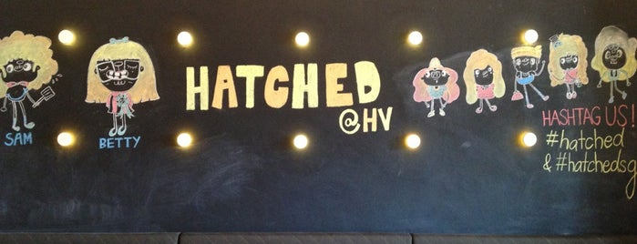 Hatched is one of Foodie list.
