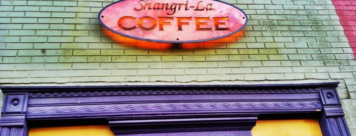 Shangri-La Coffee is one of coffee places.
