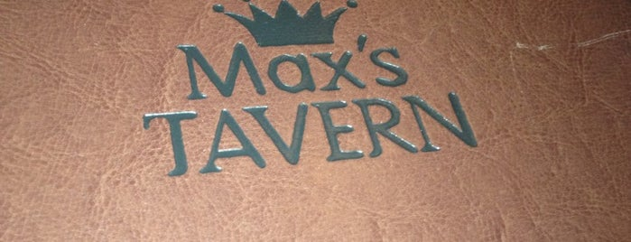 Max's Tavern is one of 20 favorite restaurants.