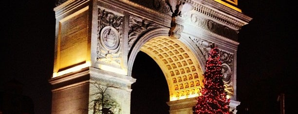 Washington Square Park is one of NYC Tourist Spots.