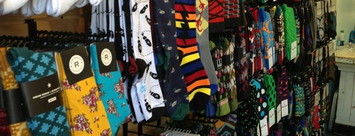 Sockshop Haight Street is one of SF Haight Ashbury.