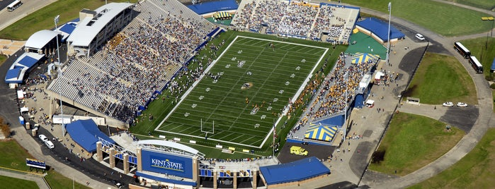 Dix Stadium is one of MAC Football Stadiums.