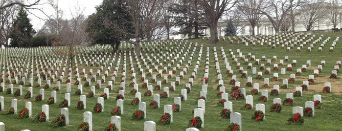 Arlington National Cemetery is one of Remembering 9/11.