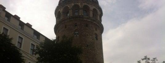 Galata Kulesi is one of Kuyumcu.