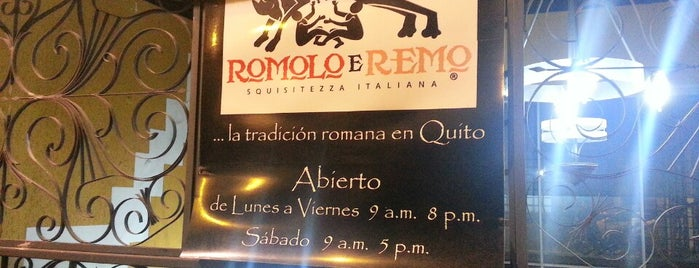 Romolo e Remo is one of Restaurants.