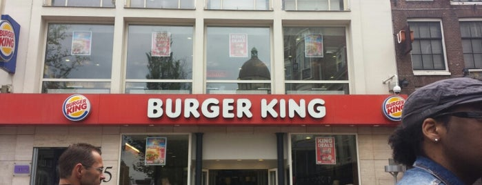 Burger King is one of Food in Amsterdam.