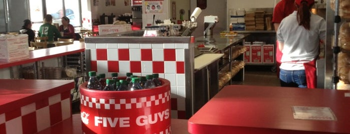 Five Guys is one of Top Restaurants in Lubbock.