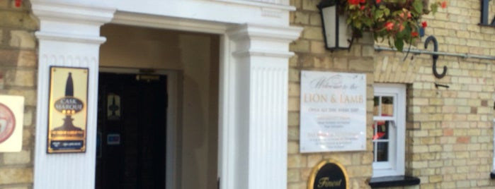 Lion and Lamb is one of Must-visit Food or Drink in Cambridge.