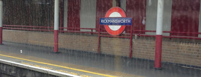 Rickmansworth London Underground Station is one of Tube Challenge.