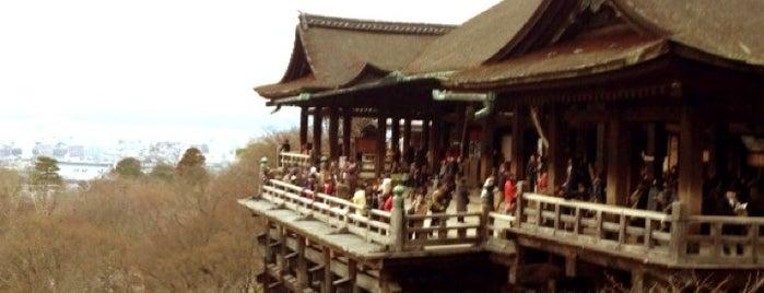 Kiyomizu-dera Temple is one of 死ぬ前に訪れたい歴史ある場所.