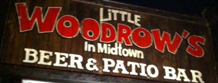 Little Woodrow's is one of Mayors.