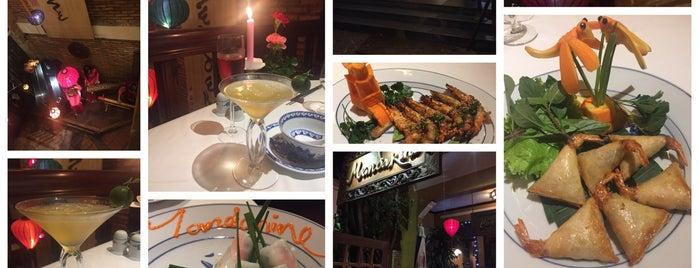 Mandarine Restaurant is one of quê hương.
