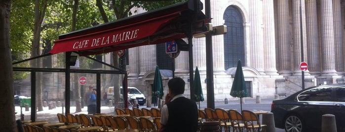 Café de la Mairie is one of Paris.