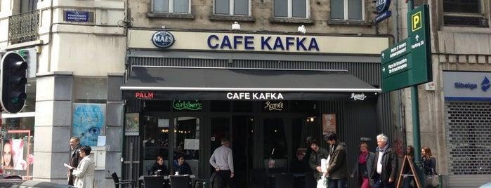 Café Kafka is one of Bruxelles.