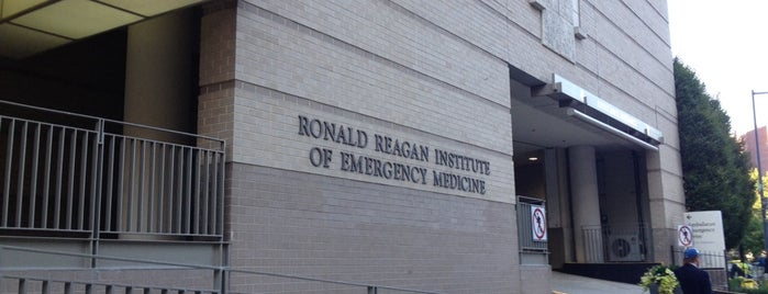 George Washington University Hospital is one of hospitals.