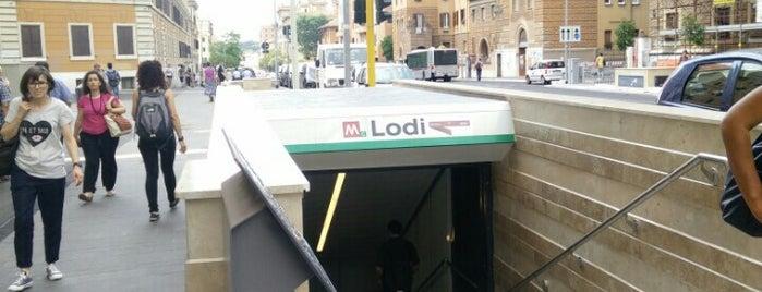 Metro Lodi (MC) is one of Muoversi a Roma.