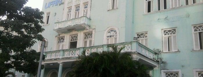 Maternidade Escola Januário Cicco is one of UFRN.