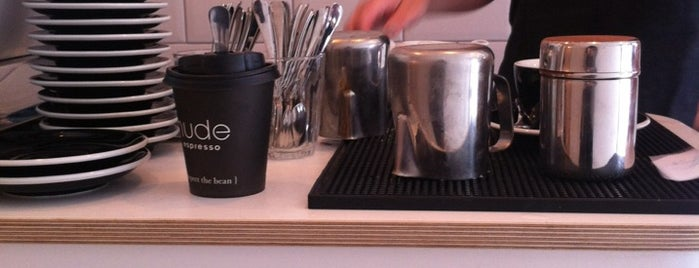 GuardianCoffee by Nude Espresso is one of 100+ Independent London Coffee Shops.